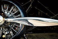 Photo Credit: Eric Kiel. The Midnight Rider's radial engine.