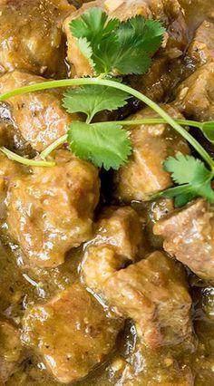 New Mexico Green Chile Stew - Dünya mutfağı - Las recetas más prácticas y fáciles Mexican Dishes, Mexican Food Recipes, Mexican Drinks, Vegetarian Mexican, Vegetarian Recipes, Pork Recipes, Cooking Recipes, Cooking Chili, Gourmet