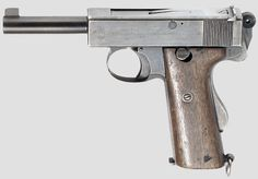 Webley & Scott Pistol Self-Loading .455 Mk.I N . Used by Royal Navy during WW 1 and WW 2.