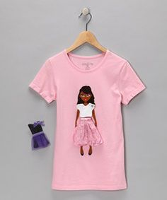cute...y'all remember shirts with the velcro and you could switch things out or make words??