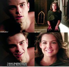 Kolvina (Kol Mikaelson and Davina Claire) The originals Vampire Diaries Funny, Vampire Diaries Cast, Vampire Diaries The Originals, Kol E Davina, Davina Claire, Tv Show Couples, Cute Couples, Power Couples, Klaus E Hope
