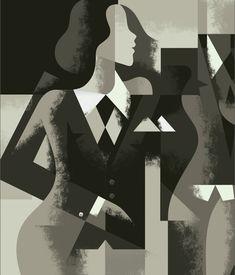 SHOP Paris cover by Mads Berg, via Behance