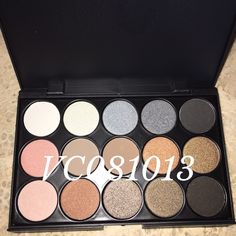 NUDE SHIMMER 15 EYESHADOW PALETTE ‼️PLEASE READ BEFORE PURCHASING   NEW IN BOX NEVER USED   15 SHIMMER NUDE EYESHADOW PALETTES (PALETTE CONTAINS A FEW MATTE EYESHADOWS)   POWDER  COMES IN A PLAIN BLACK BOX   COMPACT SIZE   VERY PIGMENTED AND HIGH QUALITYm Makeup Eyeshadow