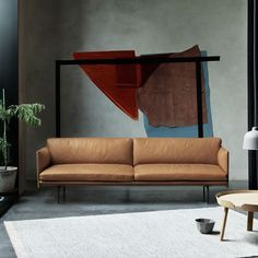 outline 3 seater muuto