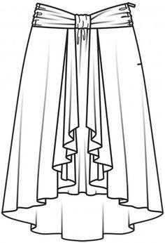 Extravagantes pliegues y fruncidos, asimetrías y material dúctil: ¡el paso a paso de tu nueva falda favorita!