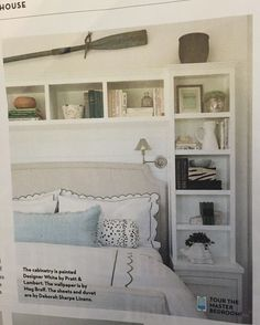 really like the built in around the bed, and like the decorating
