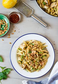 Caper 'butter' and caramelised cauliflower pasta - Lazy Cat Kitchen