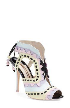 Sophia Webster 'Riko' Peep Toe Leather Mule (Women) available at #Nordstrom