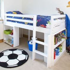 Childrens Cabin Beds with Storage . Childrens Cabin Beds with Storage . White Mid Sleeper Cabin Bed with Storage Cupboards Toddler Cabin Bed, Boys Cabin Bed, Cabin Beds For Kids, Childrens Mid Sleeper Beds, Childrens Cabin Beds, Cabin Bed With Storage, Bed Storage, Storage Ideas, Space Saving Beds