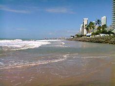 Praia de Boa Viagem, Recife Pernambuco, Brasil.