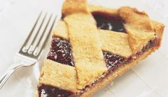 An unusual technique turns a rich nut crust and simple jam filling into an elegant tart.