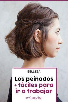 Ideas de #peinados perfectas para ir al trabajo #belleza