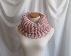 Cowl PATTERN Chunky Bulky Button Crochet Cowl: by CrochetCluster