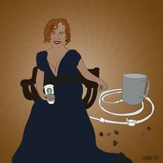 Happy anniversary to Robin Quivers and her coffee enema! So happy together