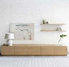 mueble tv – composicion – mobiliario – salon – kenayhome – Anime pictures to hairstyles Tv Unit Design, Tv Wall Design, Living Room Tv, Home And Living, Tv Wall Cabinets, Muebles Living, Tv Furniture, Living Room Designs, Family Room