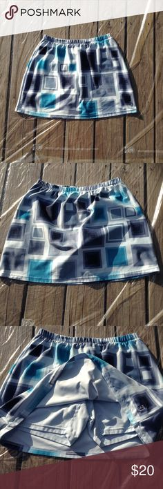 BNWT Boys Sz 12 Aqua//Check Speedway Soft Stretch Knit Short Summer PJ Pyjamas