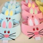 Resultado de imagen para easter hats for kids Headband Crafts, Hat Crafts, Bunny Crafts, Diy And Crafts, Easter Activities, Preschool Crafts, Easter Art, Easter Bunny, Easter Crafts For Kids
