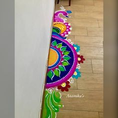 Rangoli Designs Latest, Simple Rangoli Designs Images, Rangoli Designs Flower, Rangoli Border Designs, Colorful Rangoli Designs, Rangoli Designs Diwali, Flower Rangoli, Beautiful Rangoli Designs, Henna Designs