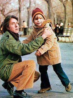 Dustin Hoffman on the set of Kramer vs. Kramer.