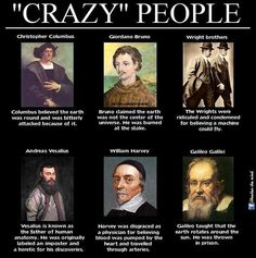 """""""Crazy"""" people in history"""