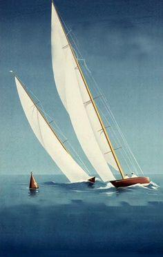 nice sail poster