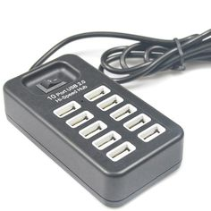 Find More Chargers & Docks Information about New Multi 10 Ports High Speed USB 2.0 USB Charger On/Off Switch Portable USB Splitter Peripherals Accessories For Computer/phone,High Quality charger wireless,China chargers pics Suppliers, Cheap charger shell from Qisubao Store on Aliexpress.com