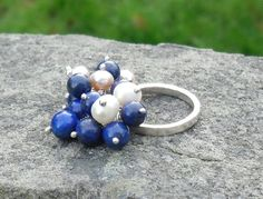 Hey, I found this really awesome Etsy listing at https://www.etsy.com/uk/listing/255287453/lapis-lazuli-and-pearl-sterling-silver