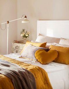Casinha colorida: Quartos para a mulherada romântica sonhar