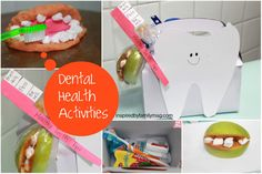 Dental Health Activities - recipe, craft and printables