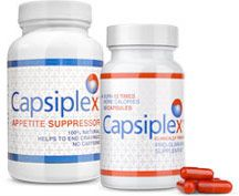 Capsiplex slimming pills and Capsiplex appetite suppressor for weight loss bottles