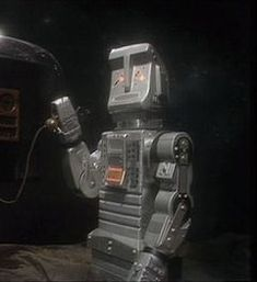 Marvin from the Hitchhiker's Guide to the Galaxy TV show