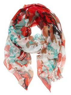 Sussan - Accessories - Scarves - Abstract floral scarf - pretty!