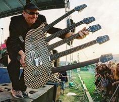 5 neck guitar   Rick Nielsen