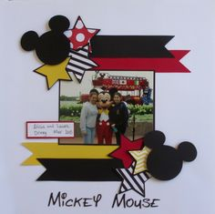 Mickey+Mouse - Scrapbook.com                                                                                                                                                                                 More