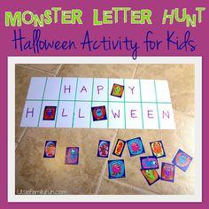 Monster Letter Hunt