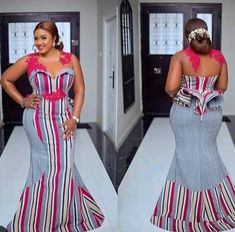 latest aso ebi lace styles Latest Lace Aso Ebi Styles 2019 Catalogue For Ladies African Print Wedding Dress, African Wedding Attire, African Print Skirt, African Attire, African Wear, African Dress, African Women, Aso Ebi Lace Styles, Kente Styles