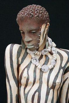 Conheça o artista que dá morada aos nossos ancestrais africanos: