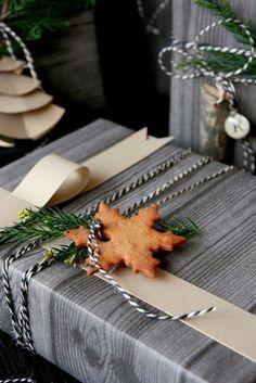 Сделано с любовью:  35 ярких способов упаковки новогодних подарков