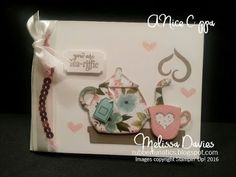 Stampin' Up! A Nice Cuppa by Melissa Davies @rubberfunatics #rubberfunatics #stampinup