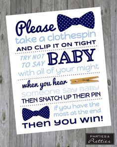 Baby Shower Clothes Pin Game Best Free Printable Little Man Baby Shower Clothespin Game  Krysteena Decorating Inspiration