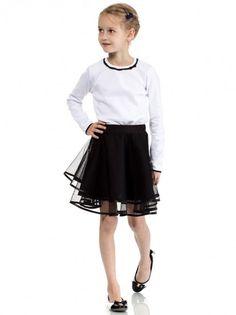 af56bb8b549f Fustă de copii pentru fetițe KIDIN - negru. BFashion Romania · Kids Fashion  ...