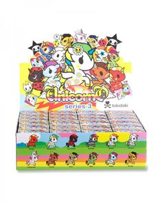 tokidoki Unicorno Blind Box Vinyl Figure Series 3 Designed by Simone Legno