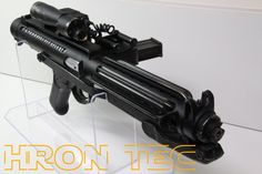 """Starwars The """"BEAST"""" Stormtrooper Blaster with BlastFX Sound & Light and Laser (Laser could be disabled in the Menu from the Blaster Electronic for COSPLAY Modus! E 11 Blaster, Laser Laser, Starwars, Beast, Menu, Cosplay, Menu Board Design, Star Wars"""