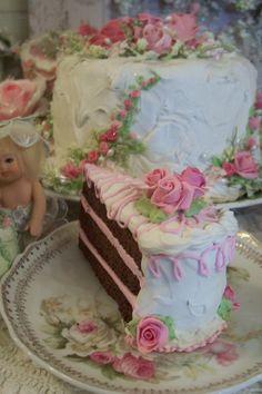 No calorie chocolate cake!