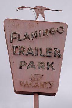 Flamingo Trailer Park, via Flickr.
