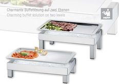 This new buffet solution by #HEPP offer a sleek, versatile way to present cold food in your buffet