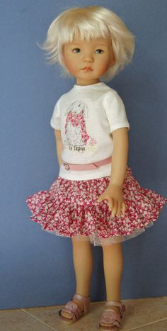 Dianna Effner 13 in Little Darling vinyl hand by Kuwahidolls