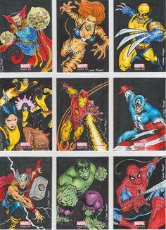 Sneak Peek at Marvel: Bronze Age Sketch Cards    Artist of the Day: Cezar Razek    http://www.scifihobby.com/products/marvel/bronzeage/index.cfm
