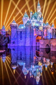 Disneyland California, Disneyland Resort, Disneyland 60th, Disney Parks, Walt Disney World, Sleeping Beauty Castle, Carnival Rides, Disney Fantasy, Diamond Anniversary