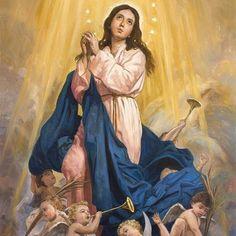 Immaculate Conception / La Inmaculada Concepción // By Raúl Berzosa // #VirginMary #VirgenMaría